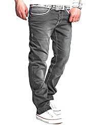 MT Styles Jeans Straight-Fit Pantalon RJ-119
