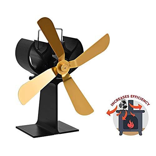 AMZ BCS Heißluft-Umwälzthermischer Antrieb Gebläse Wärmedynamisches Gebläse Kohle- / Holzpelletbrenner/Kamin-Stummschaltventilator Innenlüftungsventilator -