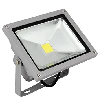 Led projecteur exterieur interieur 20w blanc froid 6000k for Projecteur led exterieur 20w