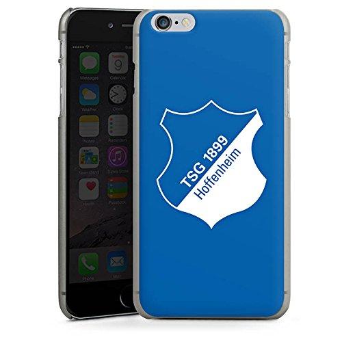 Apple iPhone X Silikon Hülle Case Schutzhülle TSG Hoffenheim Fanartikel Fußball Hard Case anthrazit-klar