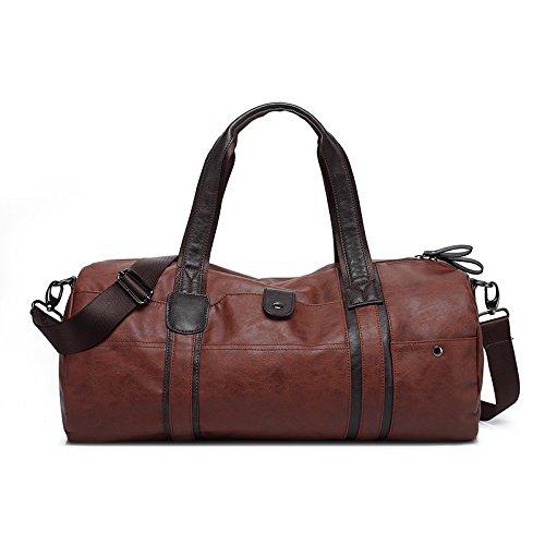 Meoaeo Die Neue Travel Bag Retro Männer Schultertasche Handtasche brown