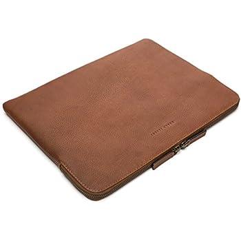 Urban Safari 13.5 Zoll Echt Leder Laptop Hülle: Amazon.de