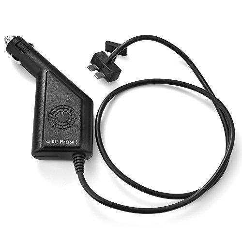 Preisvergleich Produktbild XCSOURCE® Auto Ladegerät Batterie Akku Adapter Zubehör Teile für DJI Phantom 3 Pro / Standard / 4K / Advanced Quadcopter RC366