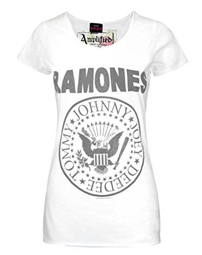 Donne - Amplified Clothing - Ramones - T-Shirt (S)