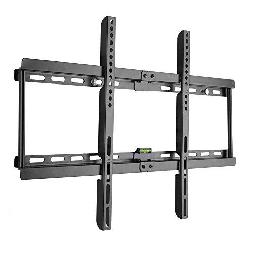 BPS Ultra Slim Flach Wandhalter TV Wandhalterung universell passend für alle TV und Monitor Hersteller 81cm-178cm?32-70 inch?, Max VESA/ Lochabstand 600 x400, Kapazität 95kg, Wandabstand nur 3,5 cm, Wasserwaage Inklusive