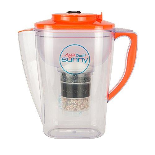 Acala Quell Wasserfilter Sunny   Orange   Kannenfilter   Aktivkohle Wasserfilter   Kreiert köstlich schmeckendes, wohltuendes Wasser