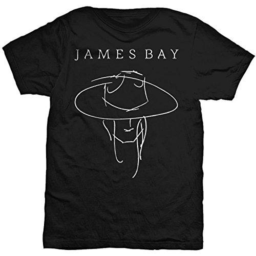 James Bay Man in Hat Maglietta