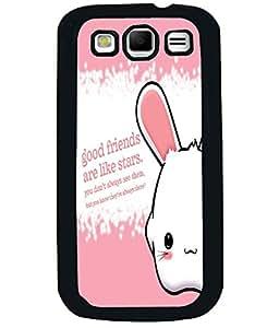 PrintVisa Metal Printed Quotes Designer Back Case Cover for Samsung Galaxy S3 I9300-D4988