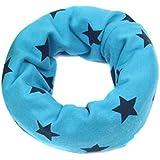 TININNA Bufanda de cuello de bebé Niños pañuelo de cuello bufanda caliente para el bebé Azul claro