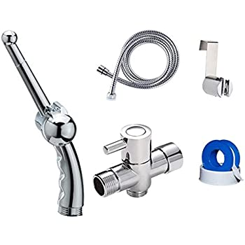Intimspa Kwad Cold Pre Mixed Water Cubic Bidet Douche Set Shattaf