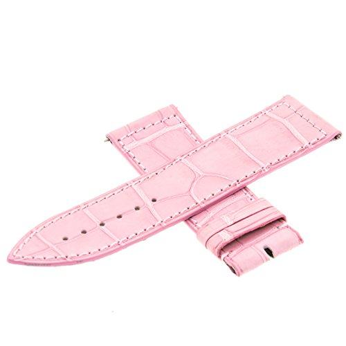 Franck Muller Geneve 01G Leder pink 24–22mm Armbanduhr Band
