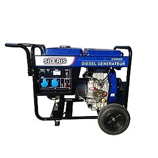 Groupe électrogène Diesel 5000W à démarrage électrique