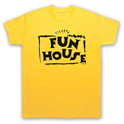 Inspiriert durch Fun House Contestant TV Show Unofficial Herren T-Shirt Gelb