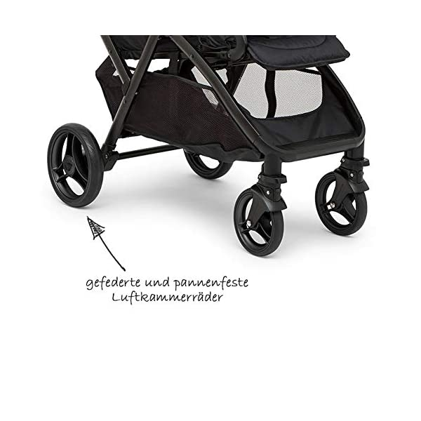 XUE Twin Baby Strollers, Front And Rear Reclining Doubles With 5-Point Safety System And Multi-Positon Reclining Seat Extended Canopy Easy One Hand Fold Large Storage Basket XUE ∵ Wipeable and washable design for easier cleaning. ∵ Convertible high chair becomes booster and toddler seat. ∵ Keeps little ones secure with 3-point and 5-point harnesses. 3
