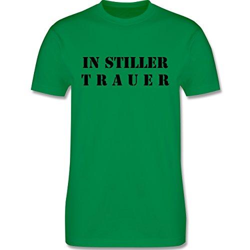 JGA Junggesellenabschied - In stiller Trauer - Herren Premium T-Shirt Grün