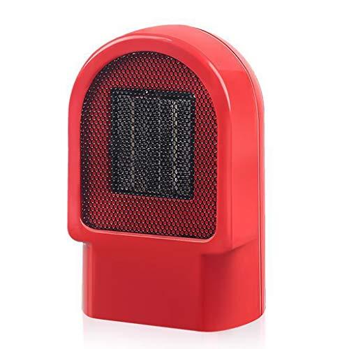 LXQGR Tragbare Raumheizung - 500W schnelle Wärme-Keramikraumheizung für Büro-kleinen Raum-Schreibtisch, elektrische Raumheizung mit Multi Thermostat, heißer kühler Heizlüfter für Innengebrauch - Multi Flamme Heizung