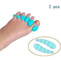 UUK Split-Toe, Eversions-Toe, Toe Separator Bend, Geschwungene Zehe, Silikon, One Size (See Blue) preisvergleich bei billige-tabletten.eu