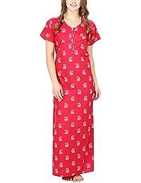 ba728ca526 Secret Wish Women s Girl s Paisley Printed nighty Feeding Nighty Maternity  Nighty Nursing Nighty Night Gown Night…
