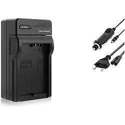 Chargeur (Auto/Secteur) pour Canon LP-E5 / EOS 450D, 500D, 1000D / Rebel T1i, XS, Xsi