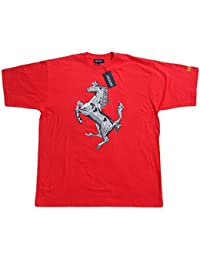 Ferrari OBS pr Horse TSH T-shirt Scuderia Ferrari Formule 1équipe Thé F1Rouge Chemise Top Cotton