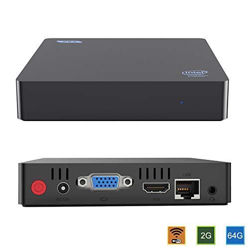 Preisvergleich Produktbild Beelink Z85 Mini PC mit Intel Atom-z8350 1.92GHz Windows 10 Mini-Computer 2GB / 64GB / VGA / HDMI / Dual Wi-Fi / Gigabit Ethernet
