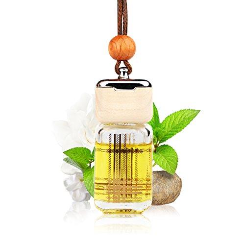 L J Auto Lufterfrischer, Autoduft, original französisches Parfumöl hergestellt bei Mane®, Auto Zubehör, Auto Duft, Leichter Duft fürs Auto, Hängefläschchen im Fahrzeug, Raumduft, 10ml (G-1222) -