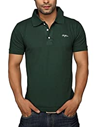 Clifton Mens Polo T-Shirt - Bottle Green