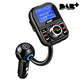 DAB Autoradio-Adapter In-Car DAB / DAB + Empfänger mit Bluetooth FM Transmitter Freisprecheinrichtung Car Kit MP3-Player-Empfänger Portable Digital Radio Broadcast