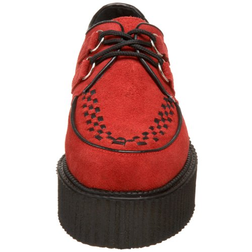 CREEPER-402S Red Suede