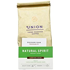Union Organic Natural Spirit Blend Espresso Ground Coffee 200 g (Pack of 3) 41jRLXkYbtL