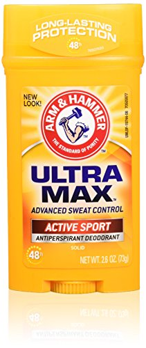 Preisvergleich Produktbild Arm & Hammer Ultra Max Invisible Solid Wide Stick, Antiperspirant Deodorant, Active Sport, 2.6 oz by Arm & Hammer