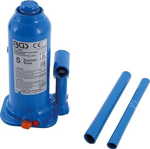 BGS 9883 | Hydraulischer Flaschen-Wagenheber | 5 t | Stempelwagenheber