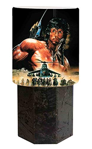 Abat jour schwarz Sylvester Stallone - Rambo 3
