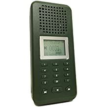 Llamador de aves de caza de exterior, reproductor de MP3 de 20 W, altavoz