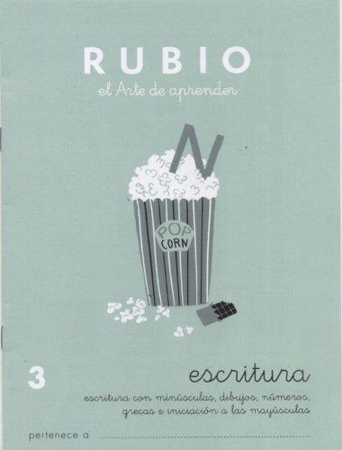 Cuadernos Rubio: Escritura 3 por Ramón Rubio Silvestre