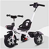 Kids Trike 3 Wheeler, Kids Trike Bike 2-In-1 Push Along Trike With Parent Handle And Kids compatible withst Ride On 3 Wheeler Tricycle Trike 1-6 Years Age