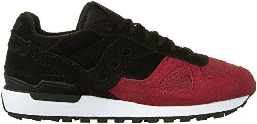 Saucony Jazz Original Ballistic hommes, suède, sneaker low BLK/RED