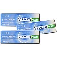 VISMED Gleitmittel Augentropfen Multi Dosis 10ml, 3Stück preisvergleich bei billige-tabletten.eu