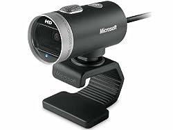 Microsoft LifeCam Cinema 720p HD Webcam for Business - Black