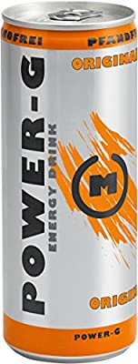 Power-G Energy Drink, 24er Pack (24 x 250 ml)