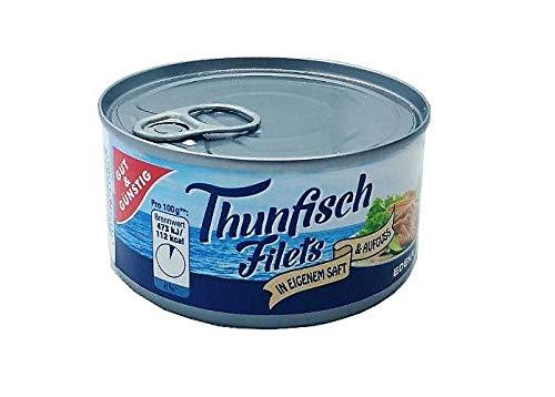 Gut & Günstig Thunfisch Filets in eigenem Saft 195g