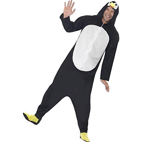 Imagen de smiffy's  disfraz de pingüino para adultos, color negro 23632xl