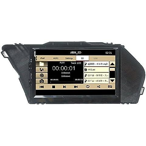 LIKECAR CAR autoradio di navigazione GPS DVD da 7 pollici