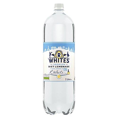 R Whites Premium-Diät-Limonade 2 Liter (Packung mit 8 x 2Liter) (Limonade Liter 2)