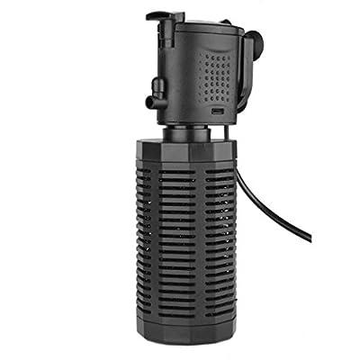 800L/H Submerge Water Pump Aquarium Internal Fish Tank Water Filter Pump with Adjustable Spray Bar