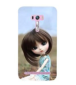 Beautiful Girl Doll 3D Hard Polycarbonate Designer Back Case Cover for Asus Zenfone Selfie ZD551KL