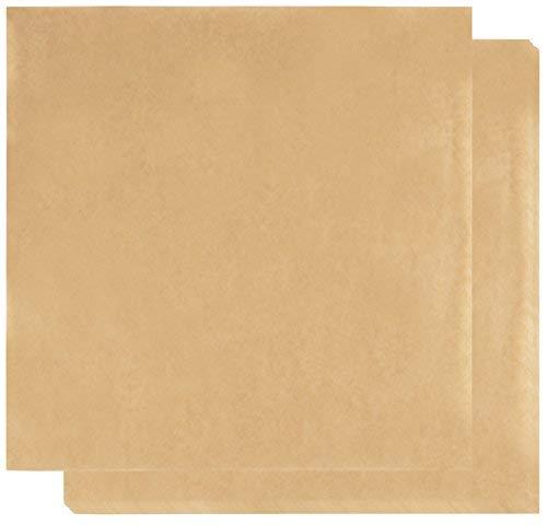 Braun Papier Blatt-300-pack Lebensmittelqualität Mikrowelle braun Liner Seidenpapier für Home und Restaurants, Deli & Korb, 30x 30cm (Cookie Display-boxen)