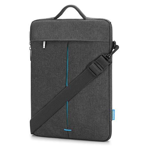 DOMISO Wasserdicht Laptophülle Etui Notebook Schultertasche Hülle Tasche für 14 Zoll Notebook Computer Chromebook / 13.5