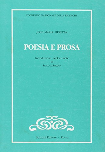 Poesia e prosa (Cnr-Lett.e culture dell'America latina)