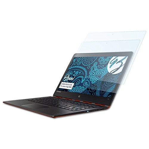 Bruni Schutzfolie für Lenovo Yoga 900S Folie, glasklare Bildschirmschutzfolie (2X)